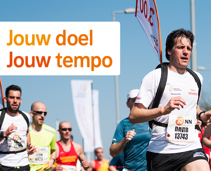 Meld je gratis aan voor het Nationale-Nederlanden Pacing Team powered by Runner's World
